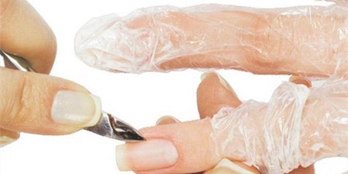 nagel behandeling met natuurlijke keratine